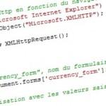 PHP/Javascript/Ajax – Conversion de devise